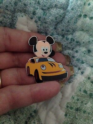 Authentic Disney Mickey Mouse Attraction Speedyway Pin