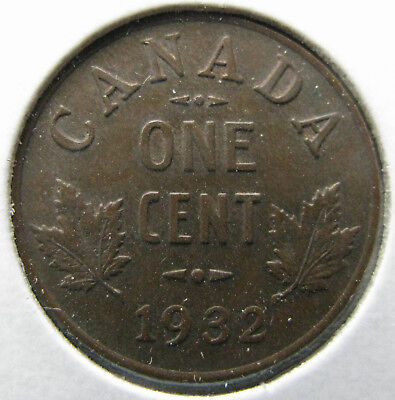 Canada 1932 Small Cent KM#28  (Item 0087)