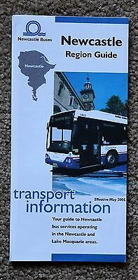 """Newcastle Region Guide"" May 2005 , Excellent Pre-Owned Condition !"