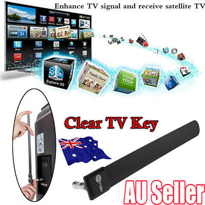 Digital TV antenna Clear TV Key HDTV Free Digital Indoor Antenna Ditch Cable MN
