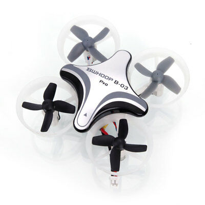 Mini BoldClash BWHOOP B03 Pro 2.4G 4CH EDF RC Drone Quadcopter Gray
