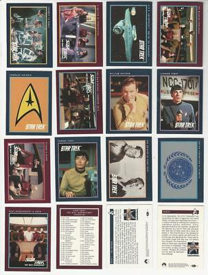 Star Trek 25th Anniversary Series 2 - Complete 150 Trading Card SET - 1991 - NM