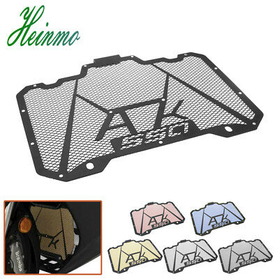 Stainless Steel Radiator Protective Guard Grill Cover For KYMCO AK550  2017 2018