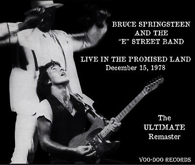 Bruce Springsteen Live In The Promised Land - 3 CD set VOO-DOO ULTIMATE REMASTER