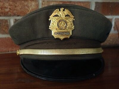 Vintage California Department of Corrections Hat