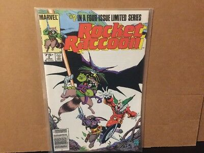 Rocket Raccoon 2 Limited Series NM High Grade Marvel Comics Combine Shipping