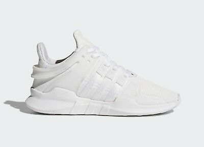 Adidas Originals Kids's YOUTH EQT Support ADV Shoes Triple White CP9783