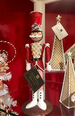 Katherine's Collection Tin Soldier Candle Holder Christmas Nutcracker 28-828378
