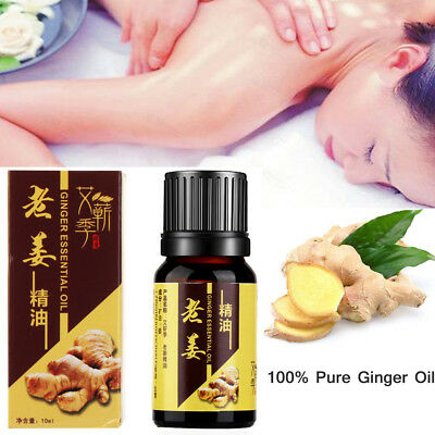 Circulation Body Massage Oil Scrape Therapy 100% Natural Ginger Essential Oil