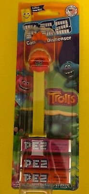 TROLLS Pez Dispenser  DJ  [Carded]