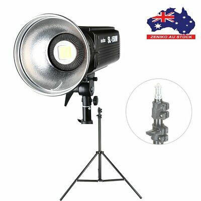 AU Godox SL-150W LED Continuous Light White Version+2m Light Stand For Wedding