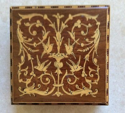 Small Wooden Jewellery Box - Used