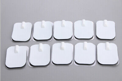 20PCS 6x4cm Replacement Tens Unit Electrode Pad Patches for Therapy Massager Use