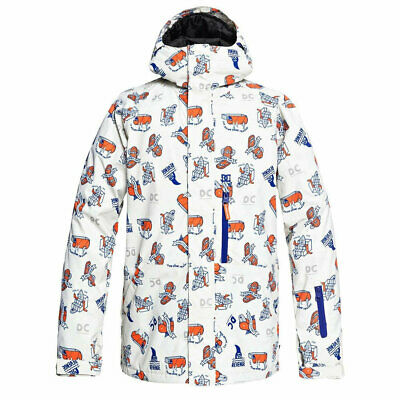 Dc Shoes Ripley Jacket Silver Birch Pbj Graphic Fw 2019 Giacca Snowboard New S M