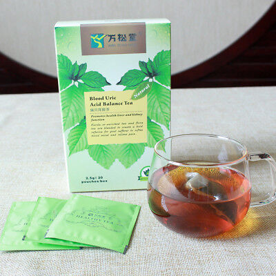 20 Teabags Chinese Blood Uric Acid Balance Body Healthy Herbal Flora Tea Supreme