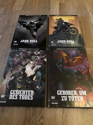 Eaglemoss - DC Batman Graphic Novel Collection - Band 1 -Jahr Null Dunkle Stadt
