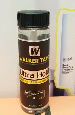 Walker Ultra Hold Brush-on Liquid Adhesive, Clear, 1.4 ounces