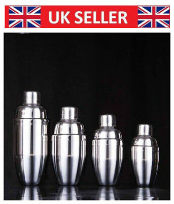 Cocktail Shaker Mixer Drink  Bartender Pub Alcohol Party Martini Bar Steel