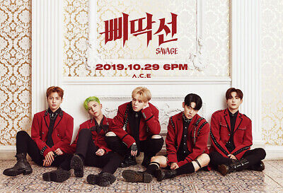 A.C.E UNDER COVER:THE MAD SQUAD 3rd Mini Album CD+POSTER+F.Buch+Karte+etc SEALED