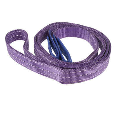 Heavy Duty Tow Strap Rope Lifting Pull Cable Road Recovery 1000kg 1t 3-Meter