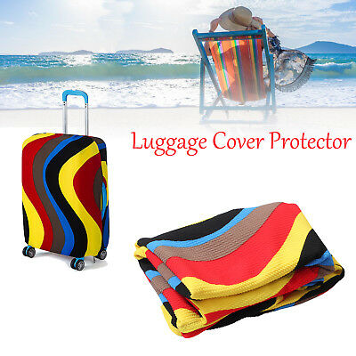 """26-28"""" Elastic Suitcase Luggage Protective Cover Dustproof Cover Bag never fade"""