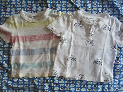 Country Road bicycle stripe tshirts x 2 (size 00)