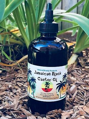 $5 off 250ml- 100% Pure JAMAICAN BLACK CASTOR OIL- Hair Growth/ Treat hair loss