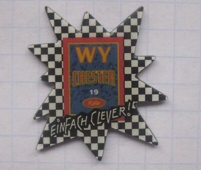 WY CHESTER EINFACH CLEVER .................Zigaretten Pin (162i)