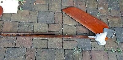 Sunfish Sailboat Rudder w/Tiller Assembly