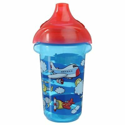 Munchkin Click Lock Deco Sippy Cup 266ml - Blue 1 2 3 6 12 packs