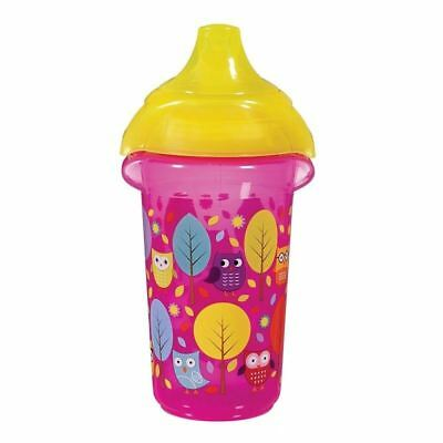 Munchkin Click Lock Deco Sippy Cup 266ml - Pink 1 2 3 6 12 packs