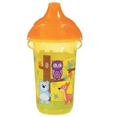 Munchkin Click Lock Deco Sippy Cup 266ml - Yellow 1 2 3 6 12 packs