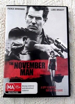 The November Man (DVD, 2015) REGION-4, LIKE NEW, FREE POST WITHIN ASUTRALIA