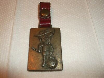 Fifa Football Soccer World Cup Argentina 78 Old Rare Keychain Mascot Gauchito