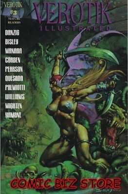 Verotik Illustrated #3 (1995)  1St Printing Bagged & Boarded