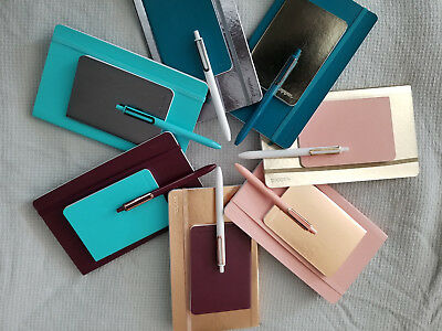 Poppin Shine On Notebooks & Gel Luxe Pen Sets - You Choose Color - PRICE REDUCED