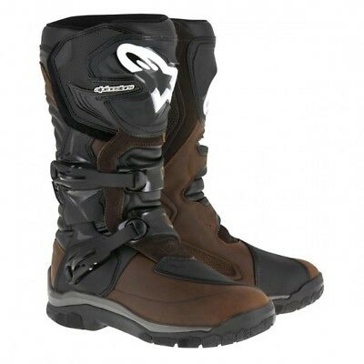 Boot corozal adv wp marron - taille 42 Alpinestars 2047717-82-9