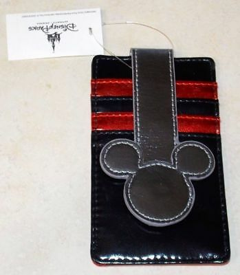 Disney Mickey Mouse Multi Color Card Wallet New with Tags Retired