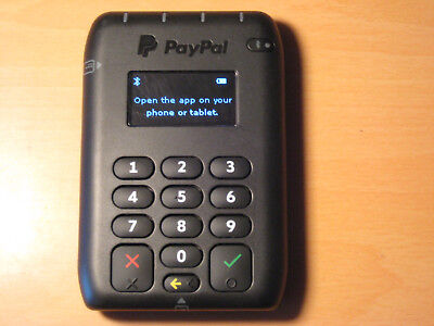 PayPal Here Contactless and Chip / PIN Card Reader