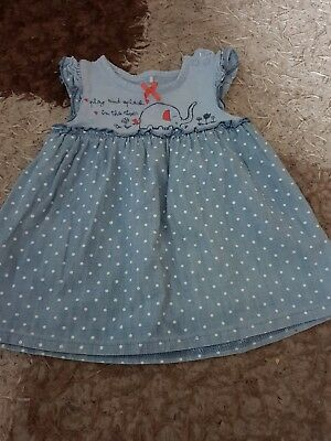 Baby Girl Elephant Top 6-9months