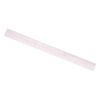 Baoblaze Plastic Metric & Imperial Ruler for Quilting Tailor Sewing Tool