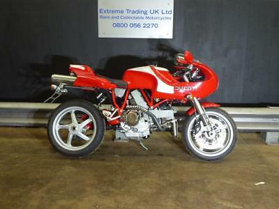 Ducati MH900E Simply stunning example 2002 with super low mileage 588 of 2000