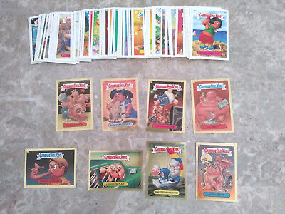 Garbage Pail Kids Cards (Stickers) 2004 Lot of 66 (8 Gold) Mix of a & b