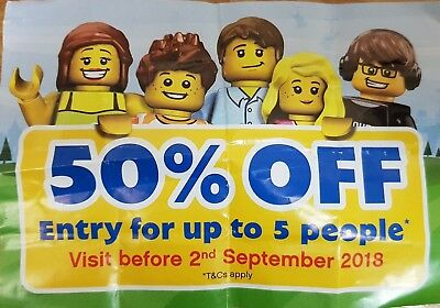 Legoland Windsor Buy 1 Get One Free Voucher Ticket Entry Valid till 1 Sep bogof