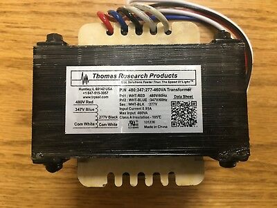 Thomas-Research-Products-Step Up/ Step Down-Autotransformer-480-347-277-220VA