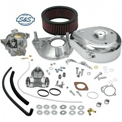 Super e carb kit - S&s cycle 11-0408