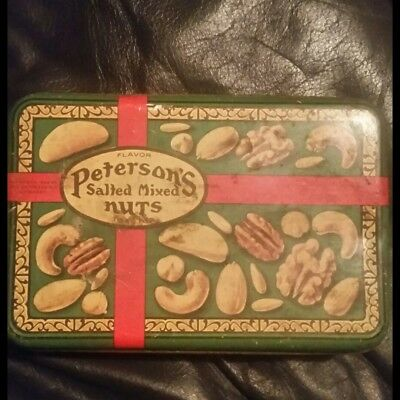 Petersons Nuts 1928 litho print tin