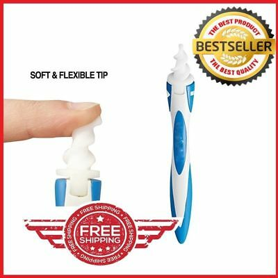 Ear Wax Cleaner Removal Easy Smart Ear-pick Swab Earwax Remover FREE SHIPPING