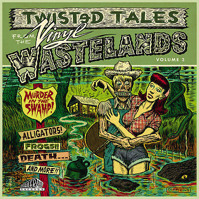 V.A TWISTED TALES FROM THE SWAMP BE SHARP Rockabilly LP Nasty Trash