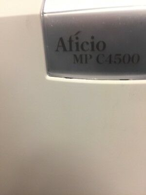 Ricoh Aficio Color Copier MP4500 with Finisher